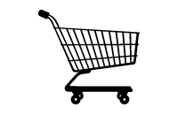 e-commerce development services - shopping cart icon