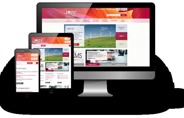 IOM3 website development