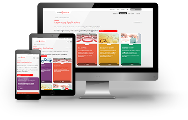 Veolia website development