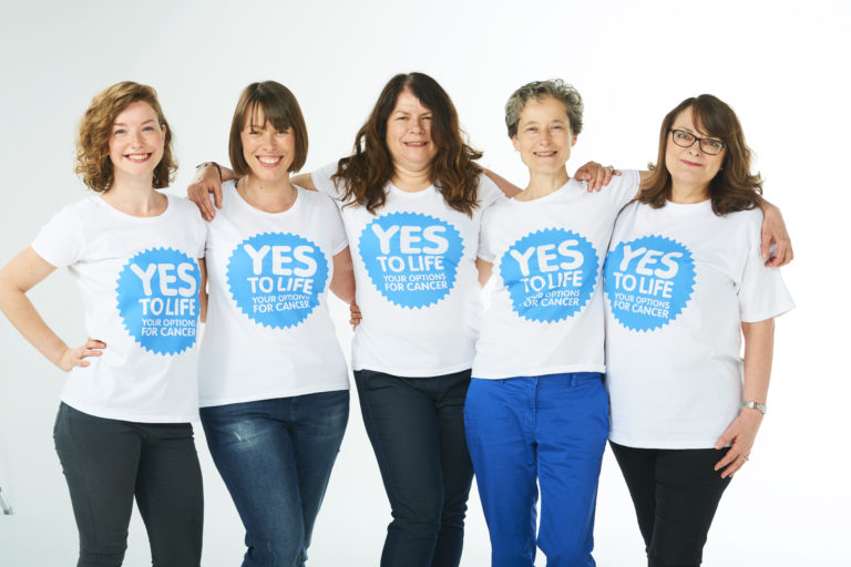 Yes to Life website image