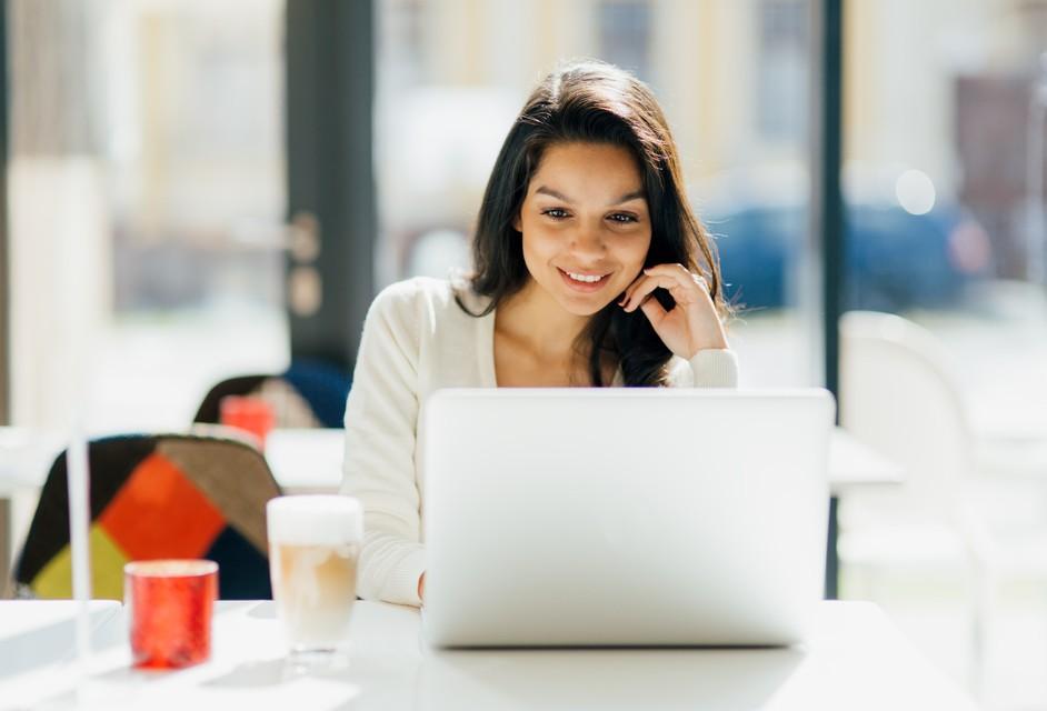 Person updating Drupal website