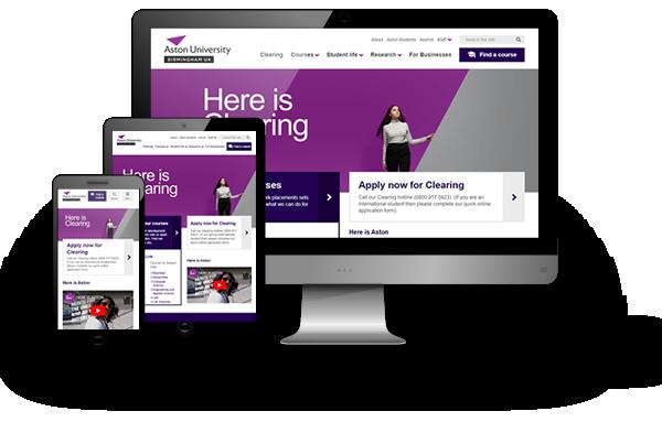 Aston University - Drupal 8 website development