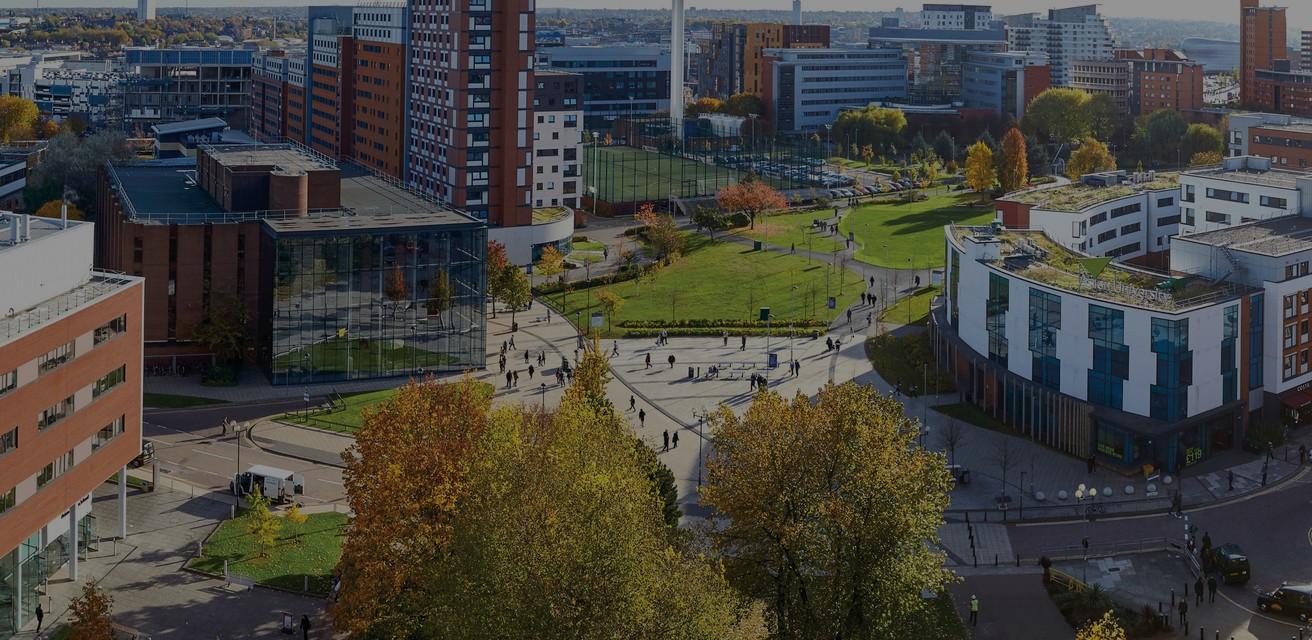 Aston University campus