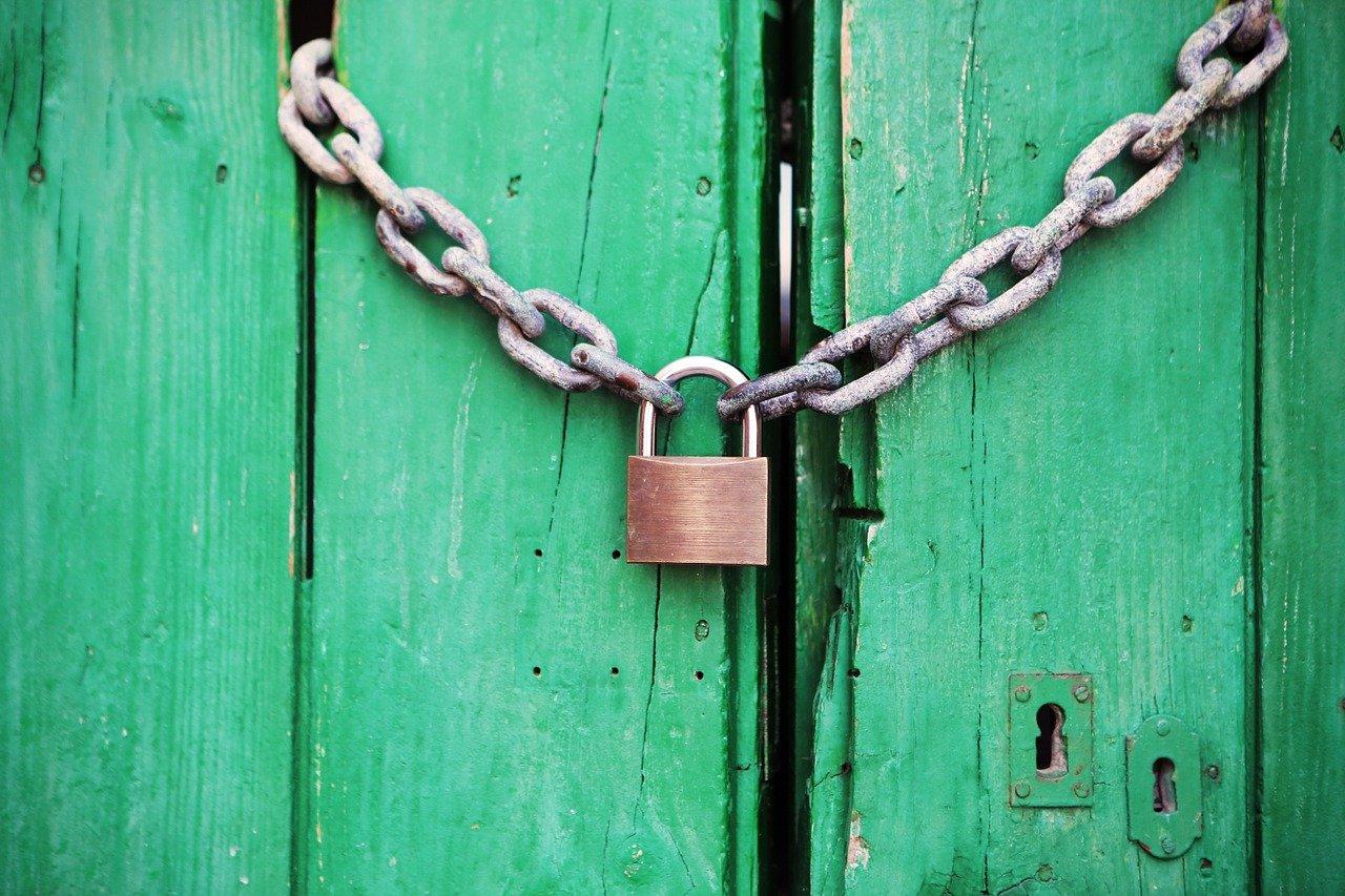 padlock to represent Drupal security